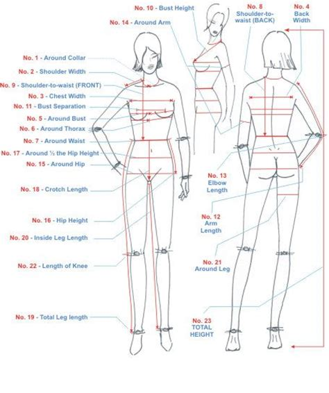 measurement chart 17 best ideas about body measurement chart on pinterest weight loss body wraps wraps for