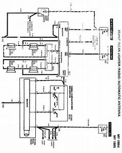 What Is The Radio And Speaker Wiring Diagram For The Mercedes Benz W126 Body