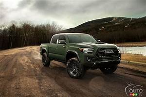 Toyota Debuts The Improved 2020 Tacoma Truck In Edmonton
