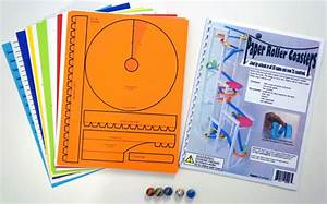 paper roller coasterscom products With free printable paper roller coaster templates