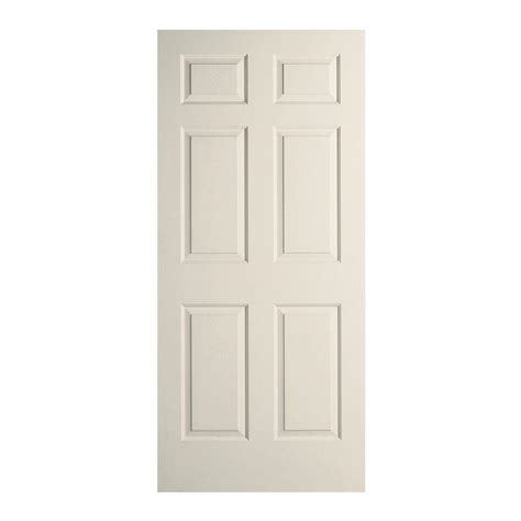 26 interior door home depot jeld wen 26 in x 80 in woodgrain 6 panel primed molded interior door slab thdjw136501050 the