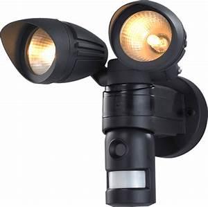 Dual outdoor floodlight hidden camera w built in dvr