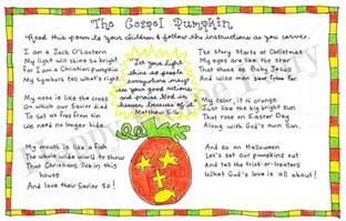 the gospel pumpkin free printable happy home
