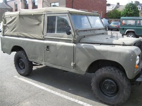 sell  land rover series  lwb soft top defender