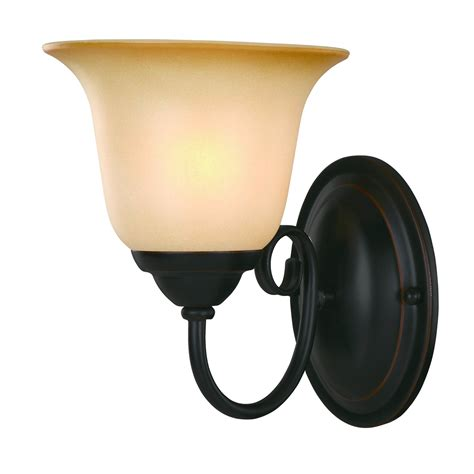 rubbed black bronze bathroom light wall mounted sconce