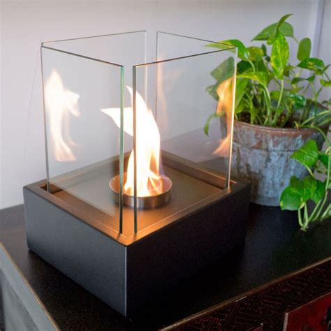 portable fireplaces  create  instant cozy vibe