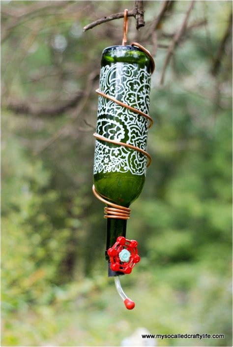 creative ways  reuse empty bottles  broken wine