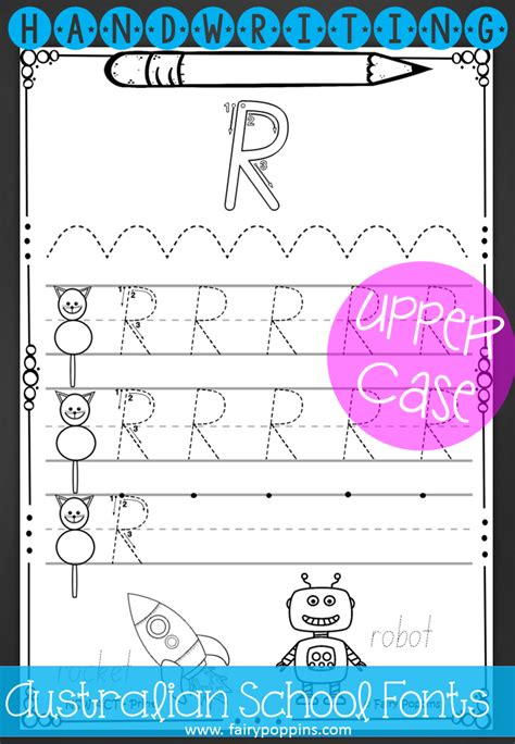australian handwriting worksheets handwriting worksheets