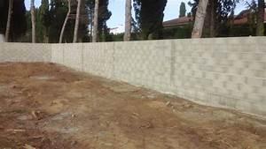 Construire Mur Parpaing : fondation mur parpaing construction mur parpaing ~ Premium-room.com Idées de Décoration