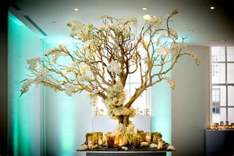 wedding tree decorations manzanita branches for weddings