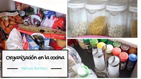 como organizar la cocina metodo konmari marie kondo