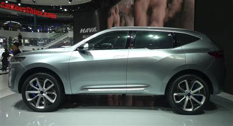 Haval Hb02 And Hr02 Suv Concepts Launched On The Beijing