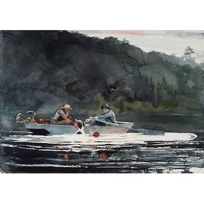 Winslow Homer WatercolorsWinslow American 1836
