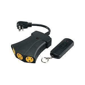 outdoor remote control outlet ebay