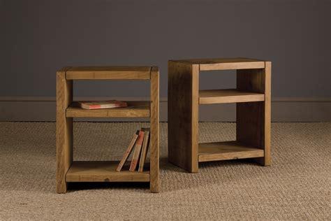 bookshelf end table plank bookshelf side table by indigo furniture