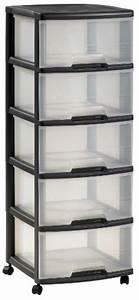 Tour De Rangement Plastique Pas Cher : rangement tiroir plastique pas cher ~ Melissatoandfro.com Idées de Décoration