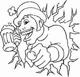Beer Pages Coloring St Float Root Patricks Printable Patrick Template Holidays sketch template