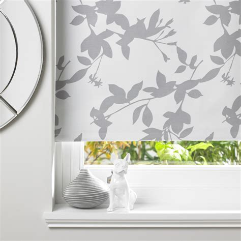 Colours Pheacia Corded Grey & White Roller Blind (L)160 cm