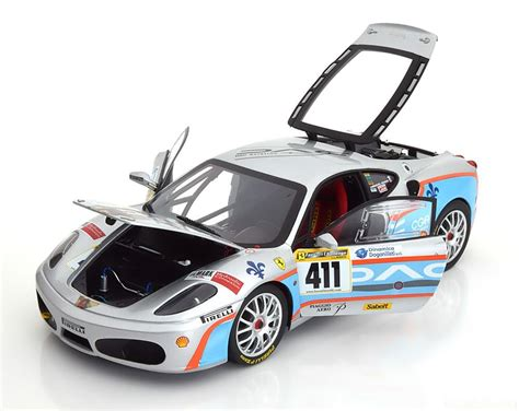 The ferrari f430 challenge has come out in the following 1/64 scale versions: No.411, North American Champion-Ferrari-F430 Challenge-Hot-Wheels-Elite L7115