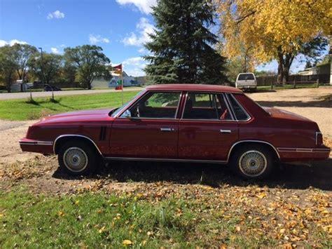 1984 Dodge 600 Low Miles! For Sale Photos, Technical