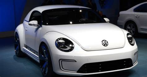 Electric Automobiles by Photos Volkswagen Reveals Its Secret E Bugster Electric