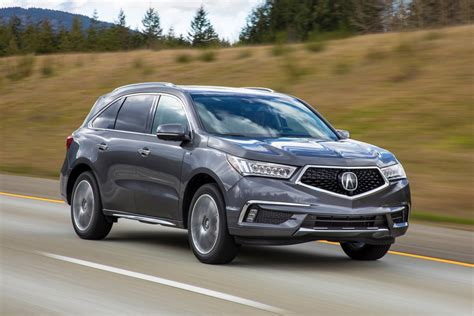 2017 acura mdx sport hybrid sh awd first review automobile magazine