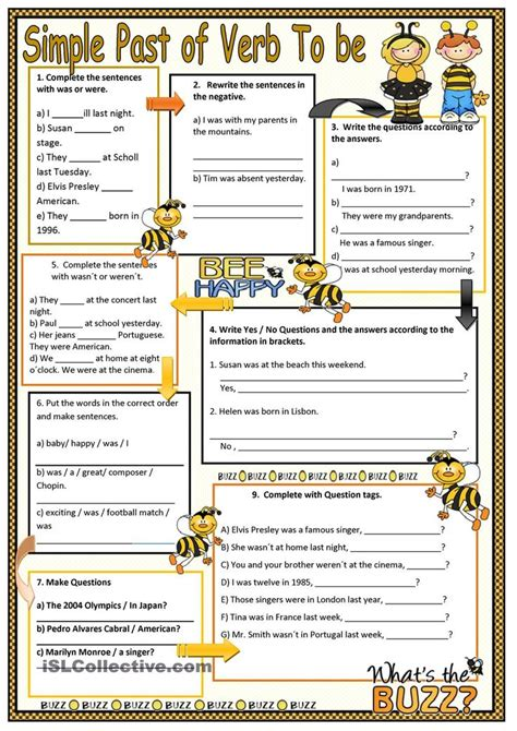 78 Best Images About Past Simple On Pinterest  Present Perfect, English And Printed