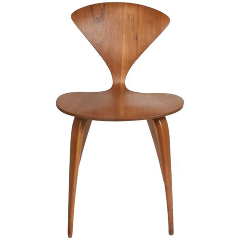 norman cherner side chair by bernado for plycraft for sale