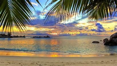 Tropical Beach Fantastic Nature Landscape 1080p