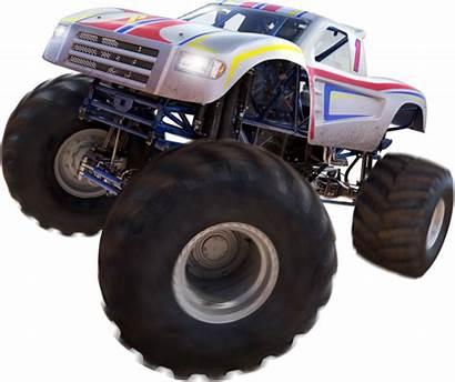 Wheels Racing Trucks Icon Monster