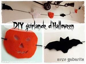 Deco Halloween A Fabriquer : d coration d 39 halloween la guirlande faite maison la ~ Melissatoandfro.com Idées de Décoration