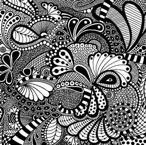 Dabbling in Zentangle at Girls' Night Out! Memory Bound