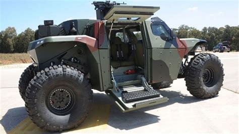vehicle survival zombie apocalypse combat guard 4x4 armored extreme vehicles truck bug military imi most built apocalyptic ever israel builds