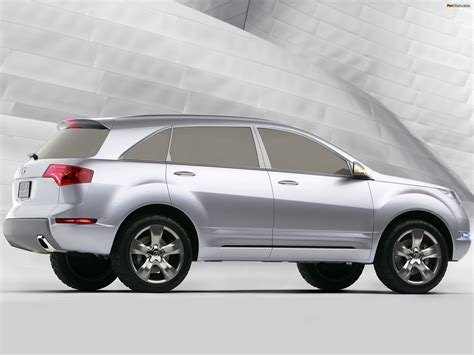 Acura Mdx Wallpaper by Acura Mdx Concept 2006 Wallpapers 2048x1536