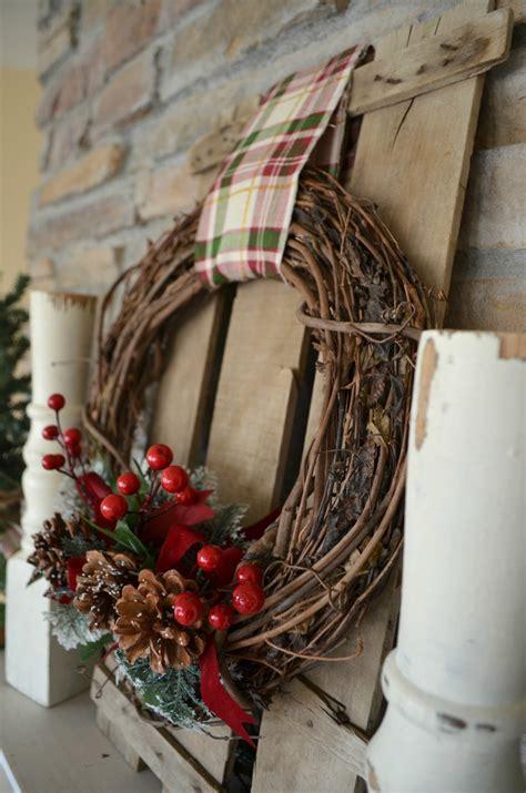 easy diy wreaths easy diy christmas wreath little vintage nest
