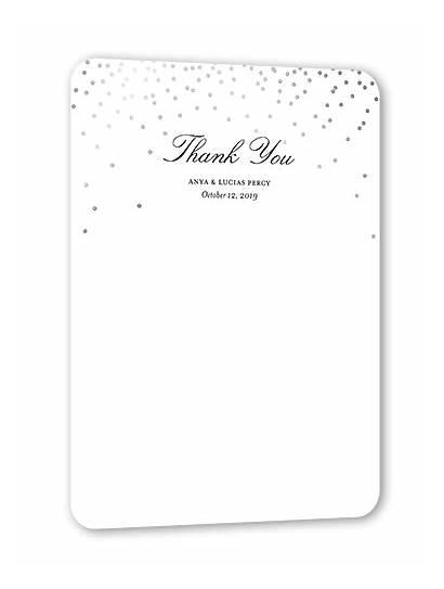 Thank Stationery Card Sky Diamond Devotion Heartfelt