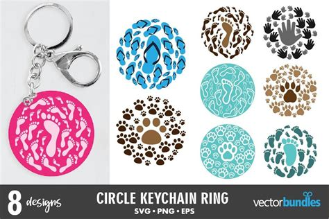 It is free to download and use any commercial projects no attribution required. Keychain round svg bundle - So Fontsy