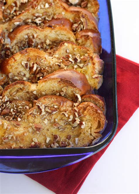 Overnight French Toast Casserole The Girl Who Ate Everything
