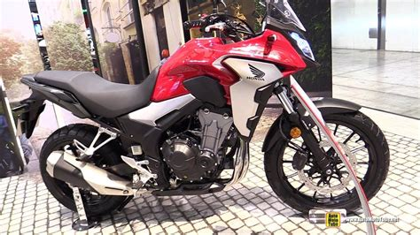 Honda Cb500x 2019 by 2019 Honda Cb500x Walkaround Debut At 2018 Eicma Milan