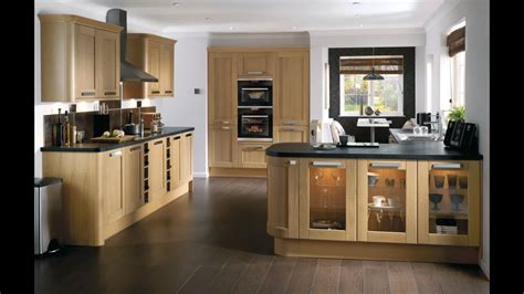 light oak kitchens tewkesbury light oak contemporary shaker style kitchen 3756