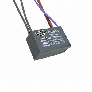 Hqrp Capacitor For Harbor Breeze Ceiling Fan 4uf 5uf 6uf 5