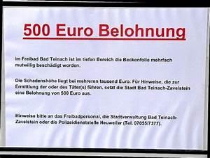 Freibad Bad Teinach : bad teinach zavelstein vandalismus verwaltung setzt belohnung aus bad teinach zavelstein ~ Frokenaadalensverden.com Haus und Dekorationen