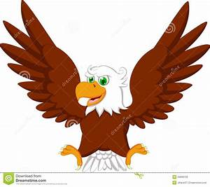 Cute Eagle Cartoon Royalty Free Stock Image - Image: 34699726