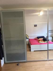 Ikea PAX System Schiebetr Paar AULI SEKKEN Frostglas