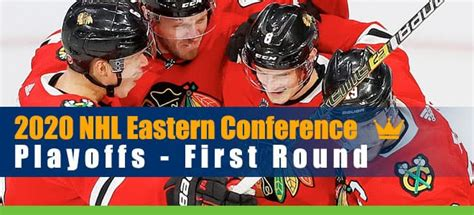2020 NHL Eastern Conference Playoffs First Round Odds ...