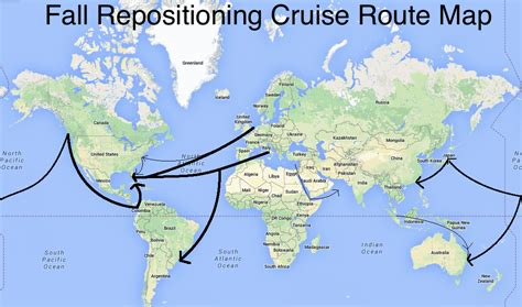 Ship Route by Cruise Ship Map Www Imgkid The Image Kid Has It