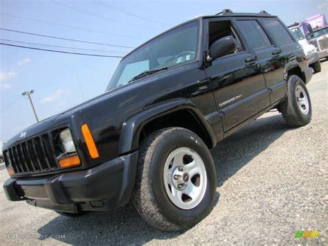 2000 jeep cherokee black 2000 black jeep cherokee sport 4x4 35054426 gtcarlot