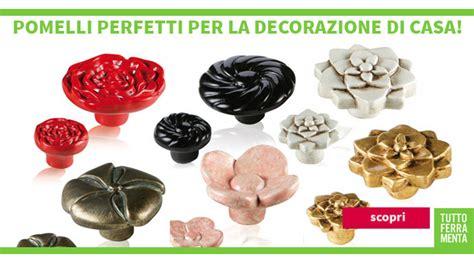 pomelli decorati maniglie per mobili di design le fabric ferramenta mobili
