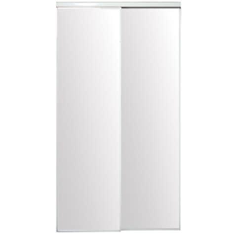 shop reliabilt flush mirror sliding closet interior door
