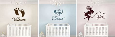 sticker mural personnalise avec photo sticker chambre bebe fille atlub